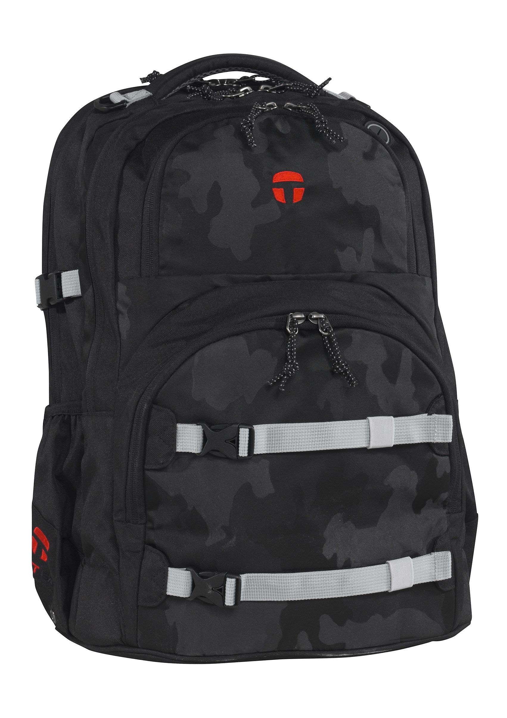 TAKE IT EASY® Größenverstellbarer Rucksack, »Oslo-Flex Camouflage Black«