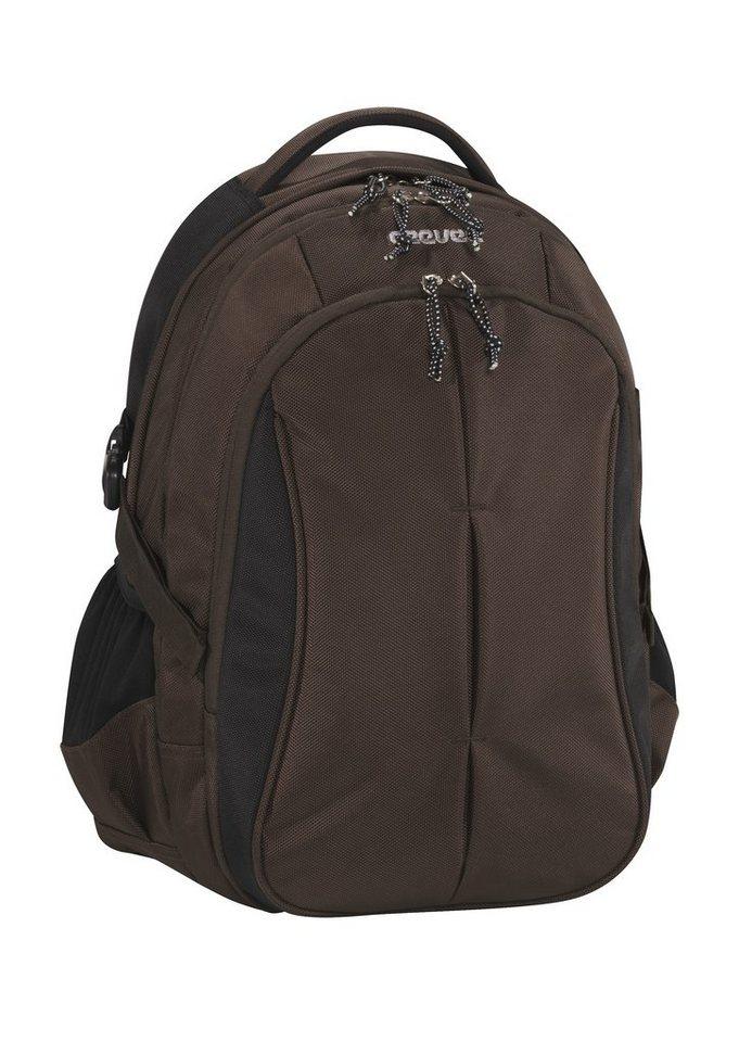 ceevee® Business Rucksack mit Laptopfach 15-Zoll, »Seattle, braun« in braun