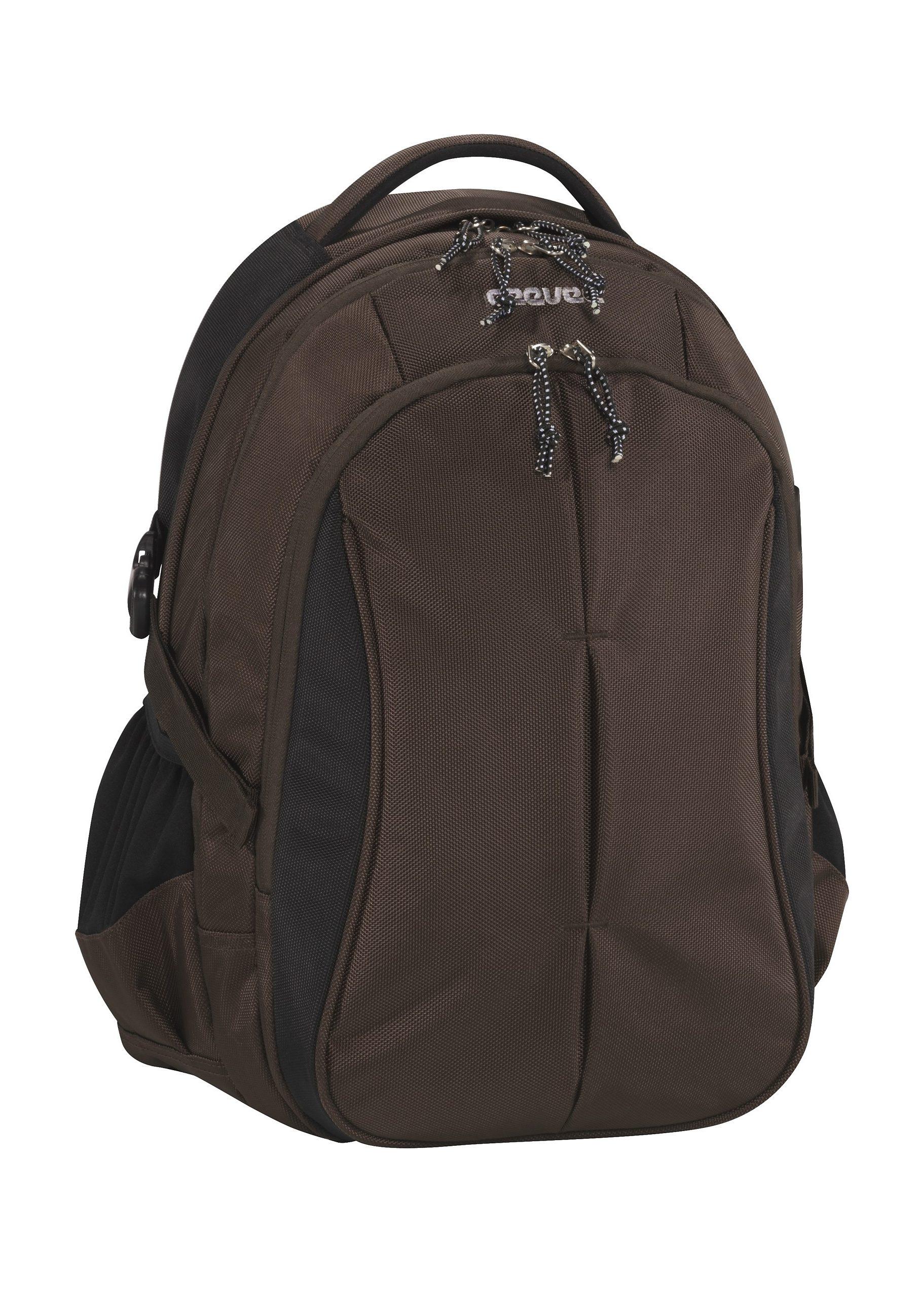 ceevee® Business Rucksack mit Laptopfach 15-Zoll, »Seattle, braun«