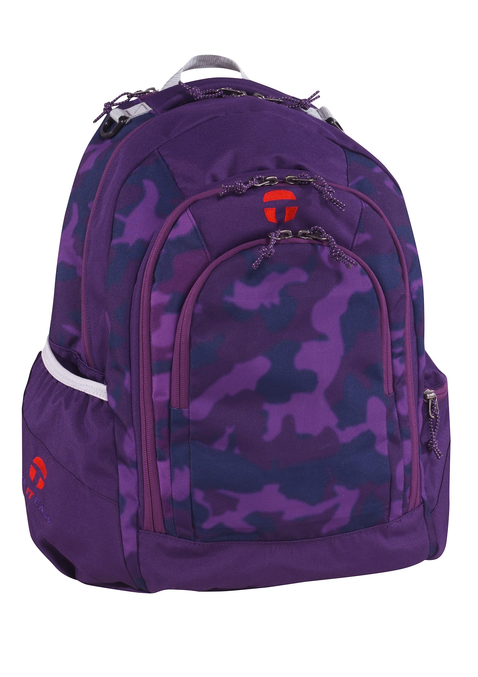 TAKE IT EASY® Rucksack, »Berlin Camouflage Purple«