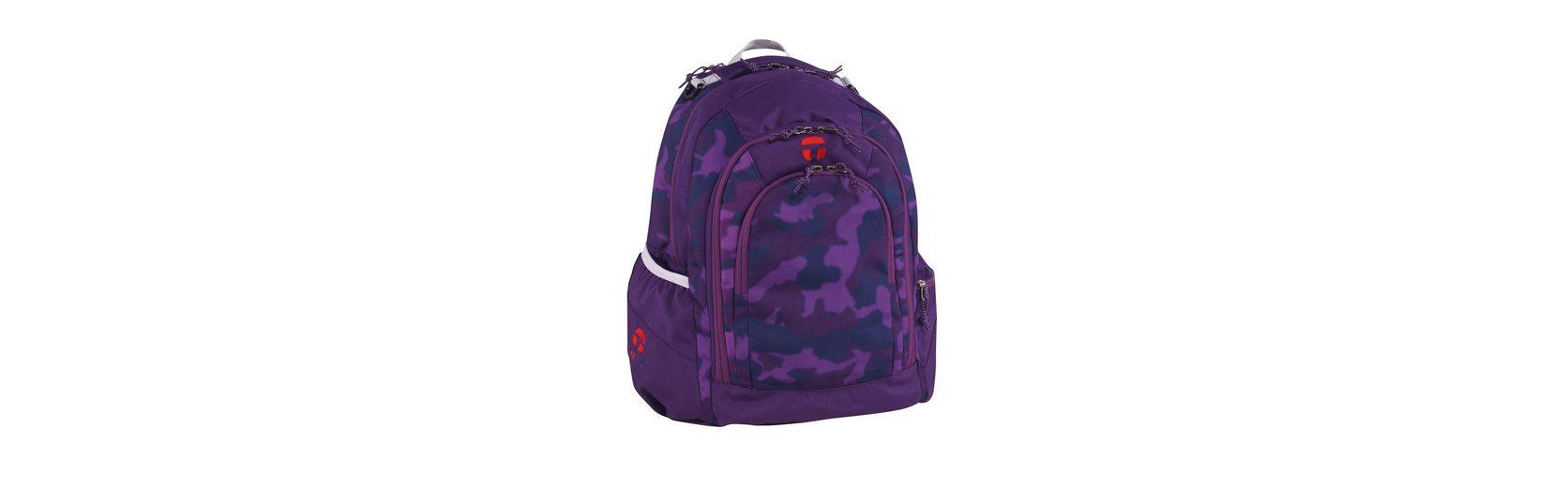 TAKE IT EASY® Rucksack, »Berlin Camouflage Purple«