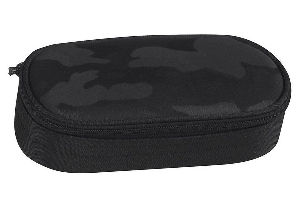 TAKE IT EASY® Mäppchen, »Etuibox XL Camouflage Black« in schwarz