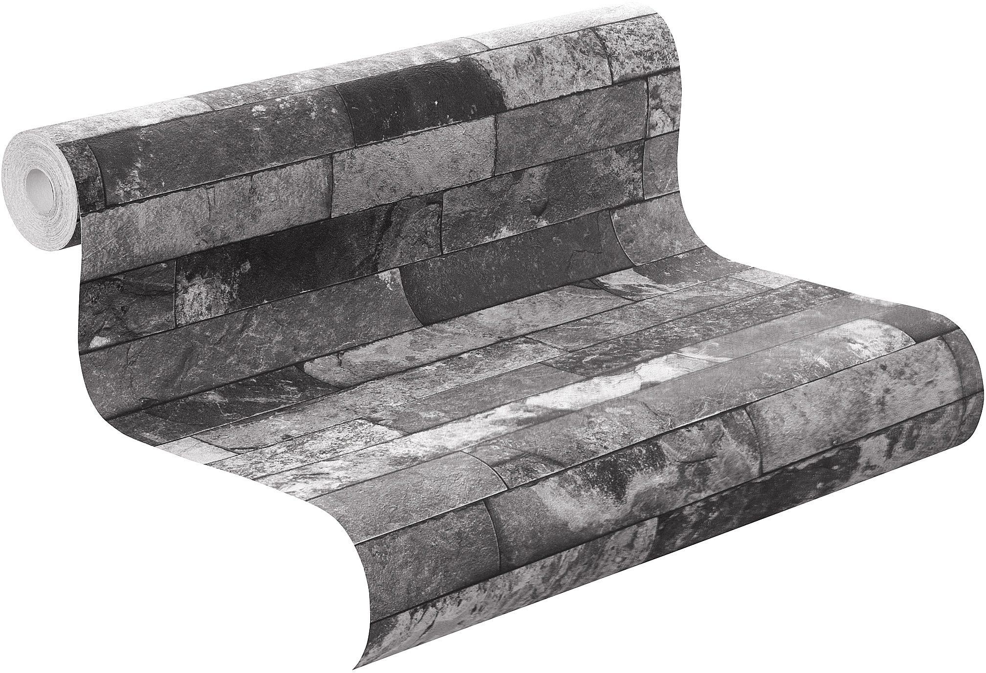 Outdoor Küche Steinmauer : Vliestapete rasch factory steinmauer« kaufen otto