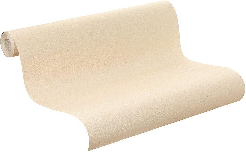 Papiertapete, Rasch, »Pina Lupina Uni« in beige