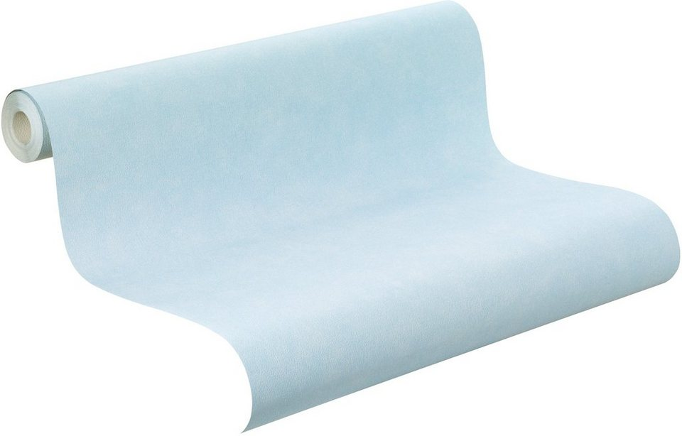 Papiertapete, Rasch, »Capt´n Sharky, Uni« in blau