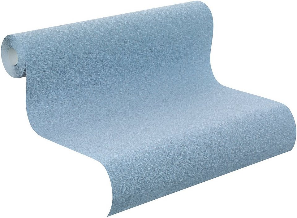 Vliestapete, Rasch, »Home Vision VI Uni« in blau