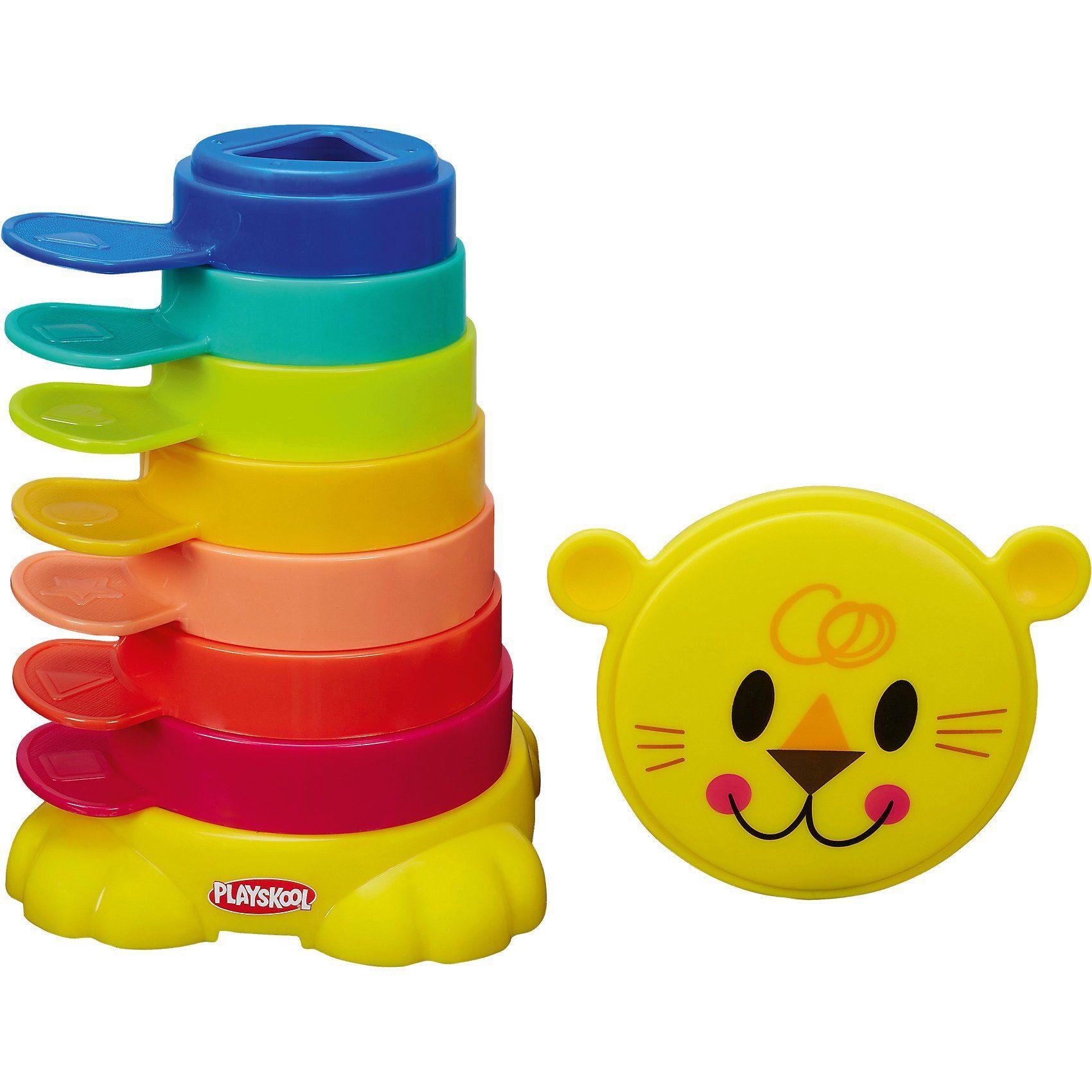 Hasbro Playskool - Stapelspaß Löwe