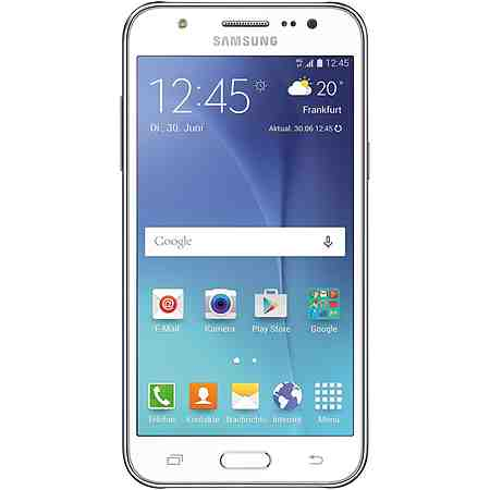 Samsung Galaxy J5 (SM-J5000F) Smartphone, 12,6 cm (4,9 Zoll) Display, LTE (4G), Android 5.1 Lollipop