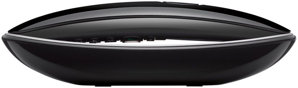 Gigaset CL750 A GO Sculpture DECT Telefon mit AB in schwarz