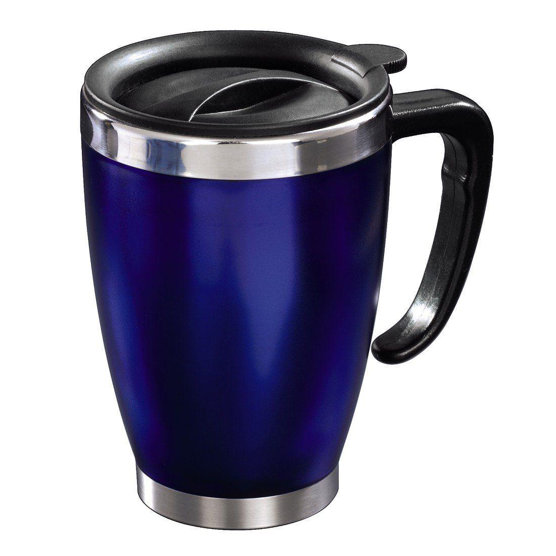 Xavax Isolierbecher Office, 300 ml, Blau