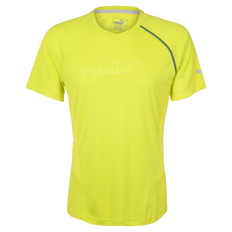 PUMA Cool Embossed Trainingsshirt Herren in hellgrün
