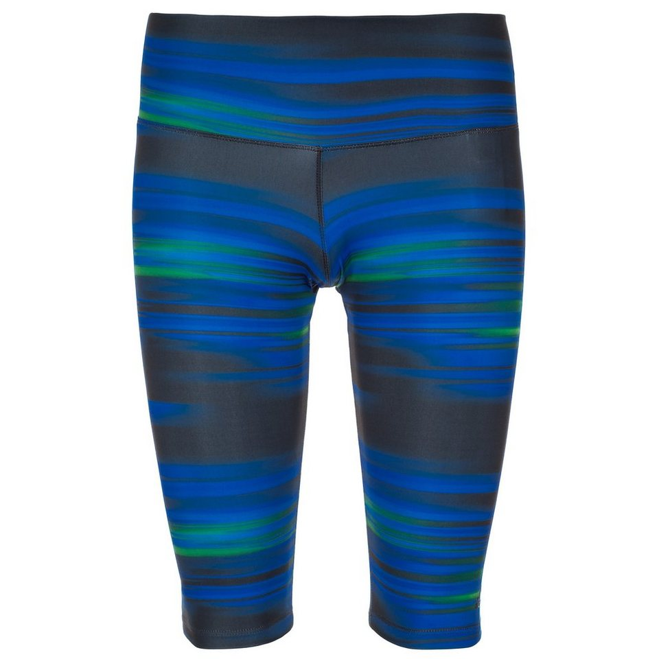 adidas Performance Gym Printed Trainingstight Damen in dunkelblau
