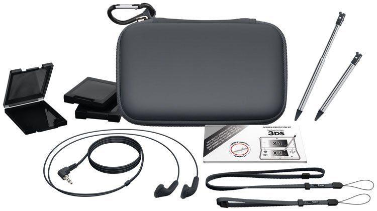 BIGBEN Full Pack Essential für new 3DS grau »(3DS)«
