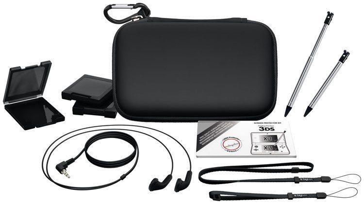 BIGBEN Full Pack Essential für new 3DS schwarz »(3DS)«
