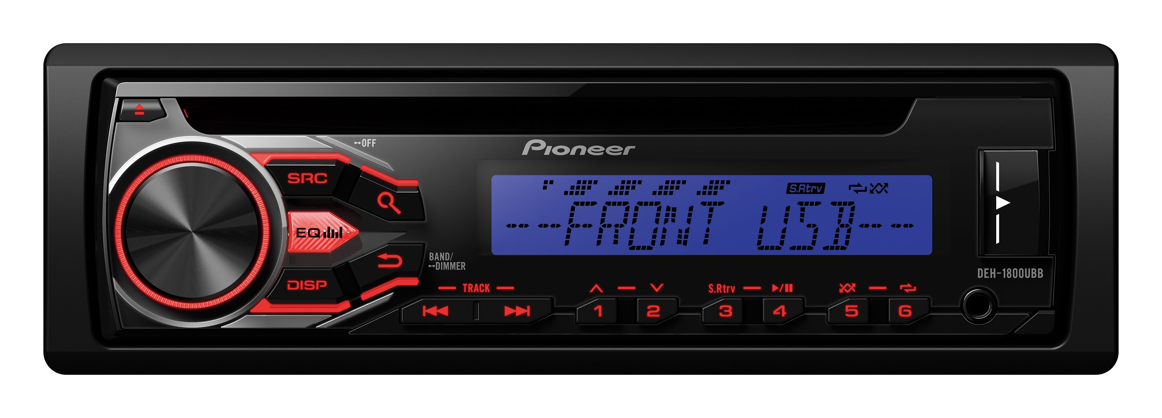 PIONEER 1-DIN Autoradio »DEH-1800UBB«