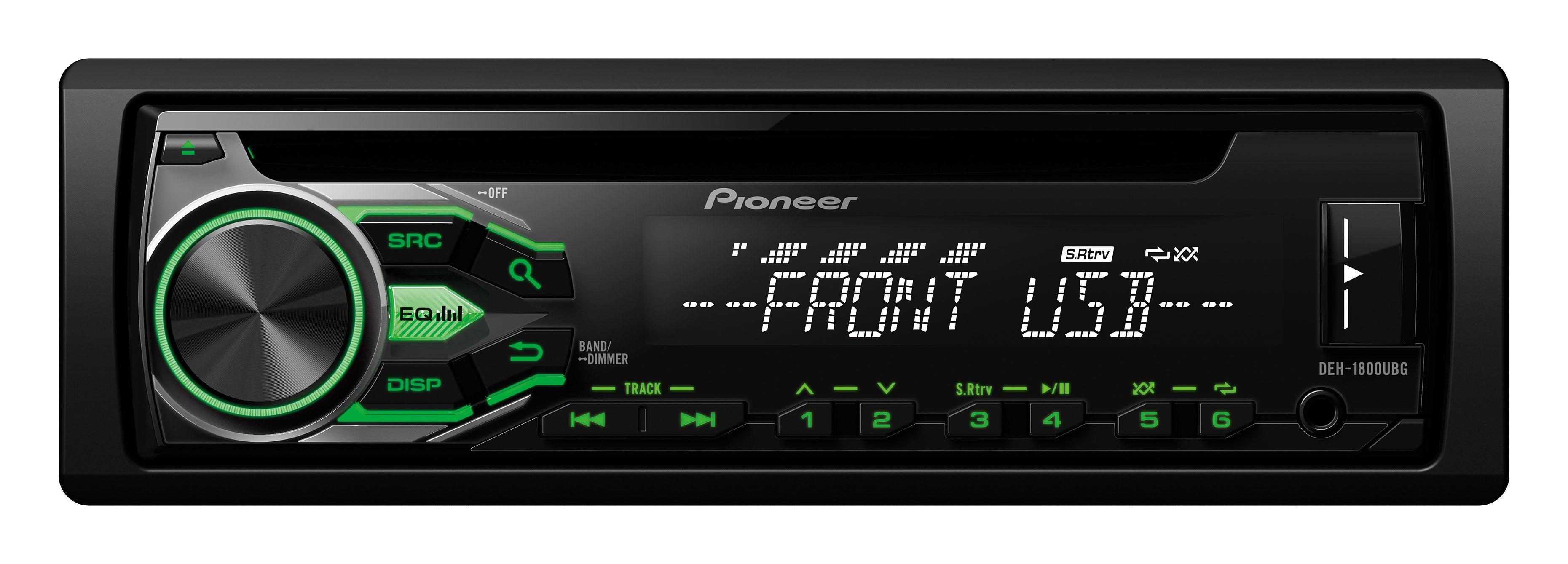 PIONEER 1-DIN Autoradio »DEH-1800UBG«