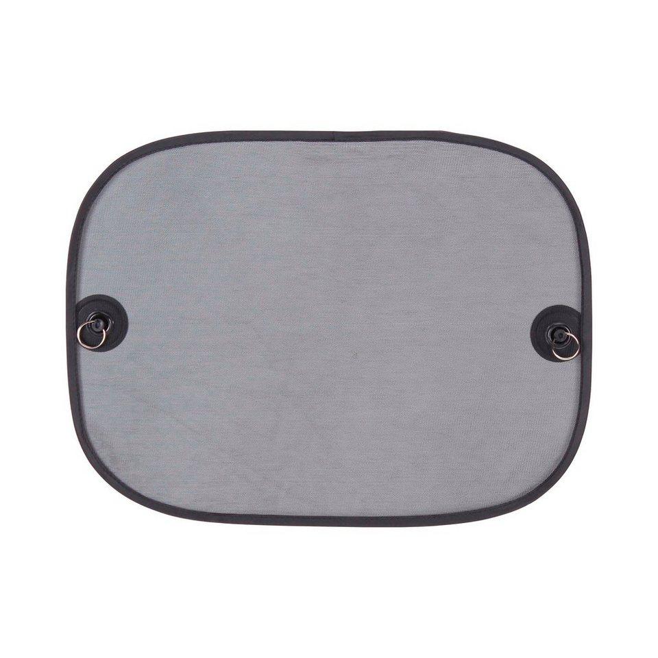 DIAGO Auto-Sonnenschutz für Seiten- und Heckscheibe in schwarz