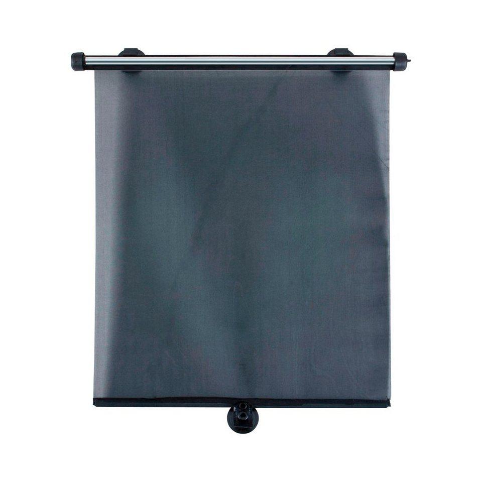 DIAGO Auto-Sonnenschutzrollo in schwarz