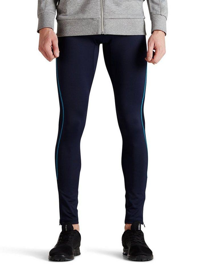 Jack & Jones Leichte Tight Fit- Sporthose in Navy Blazer