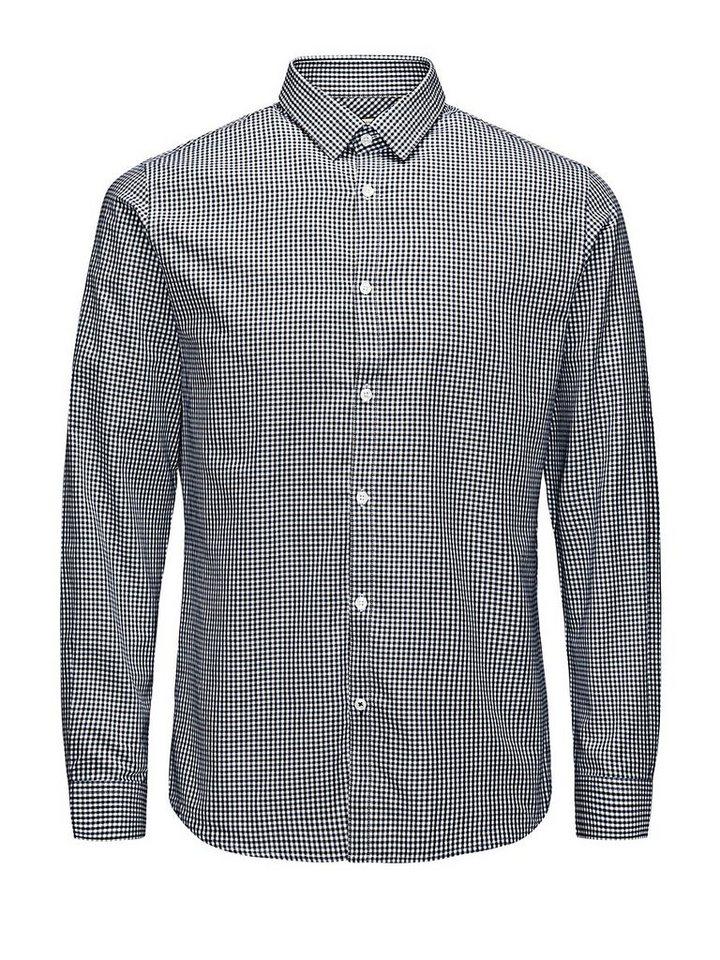 Jack & Jones Klassisches Businesshemd in Navy Blazer