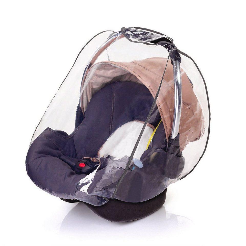 DIAGO Regenschutz Babyschale in transparent