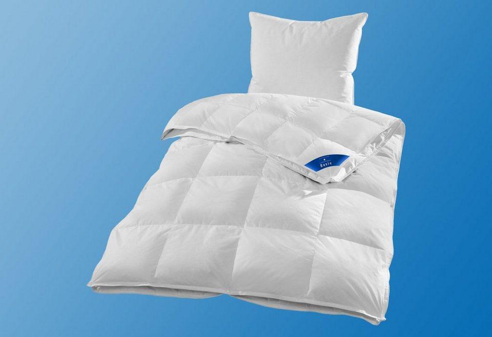 4-Jahreszeiten-Bettdecke Ribeco Jonas, 4-Jahreszeiten, in unterschiedlichen Füllqualitäten