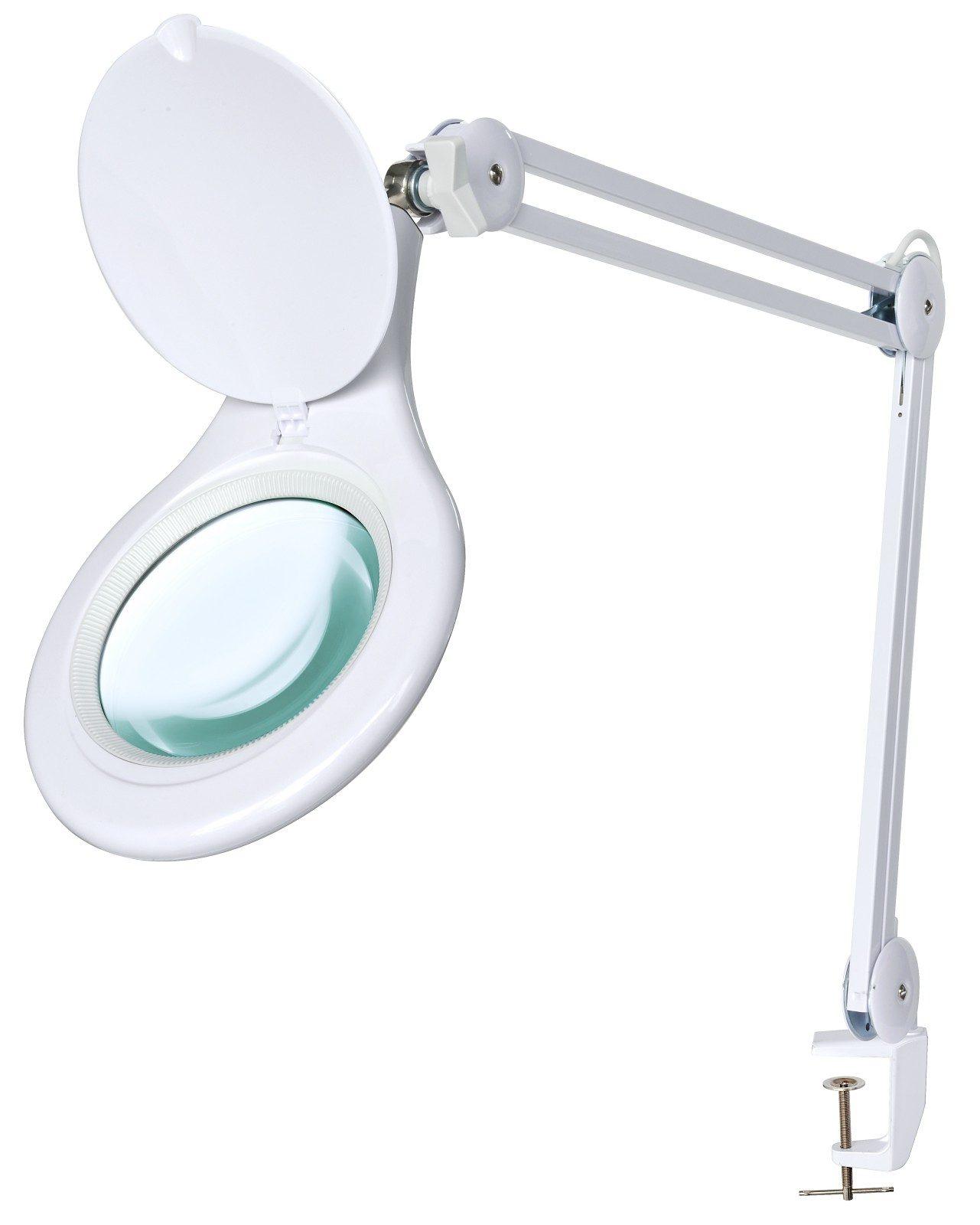 BRESSER Lupe »BRESSER LED Tischklemmlupe 2x 175mm«