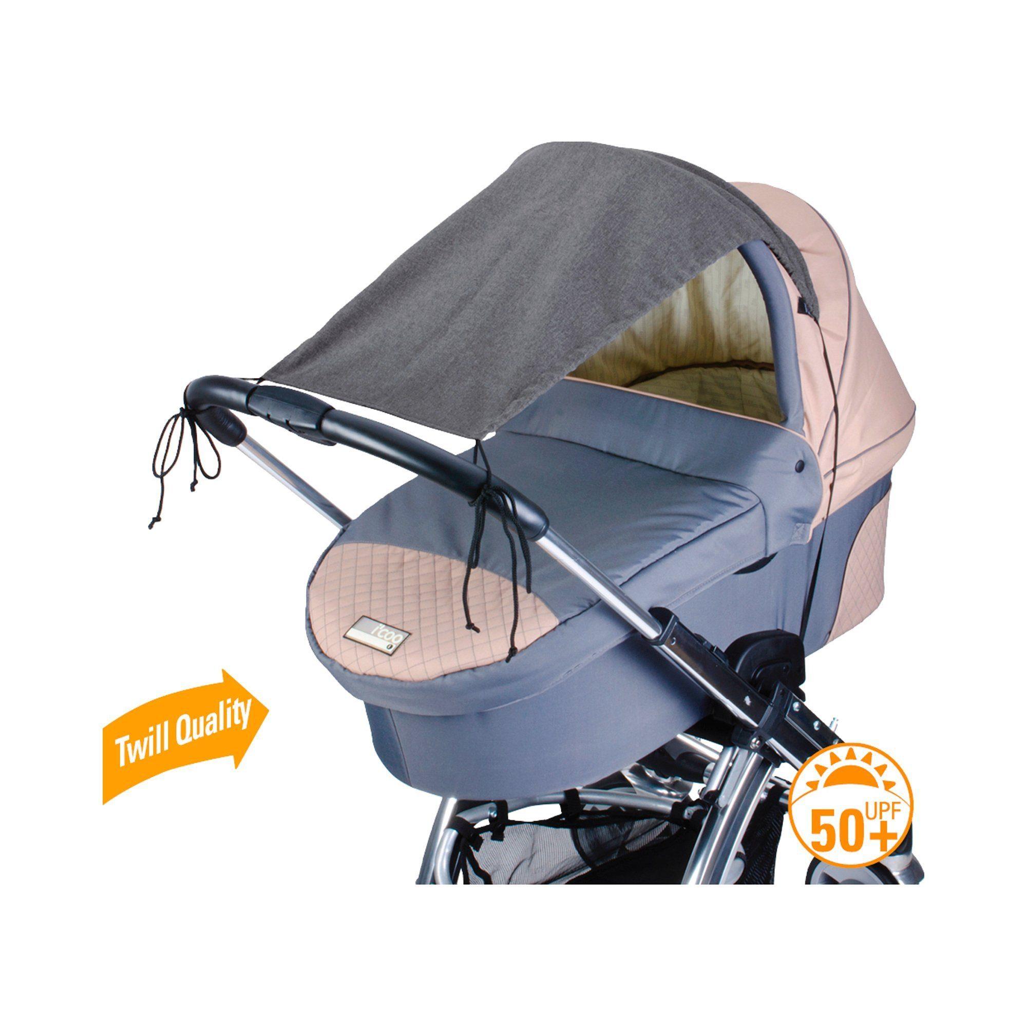 DIAGO Deluxe Sonnensegel mit UV-Schutz 50+