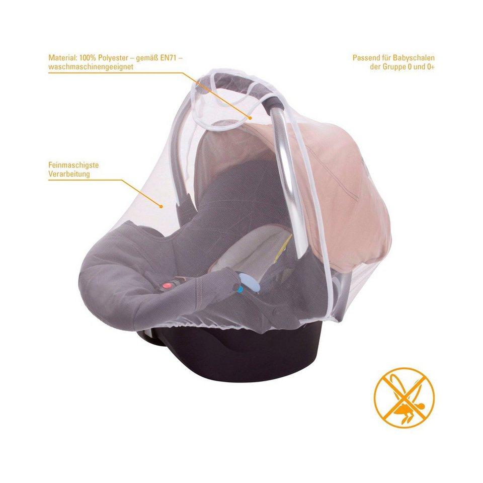 DIAGO Insektenschutz für Babyschale in weiß