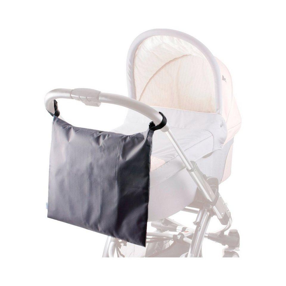 DIAGO Einkaufstasche für Kinderwagen und Buggy in schwarz