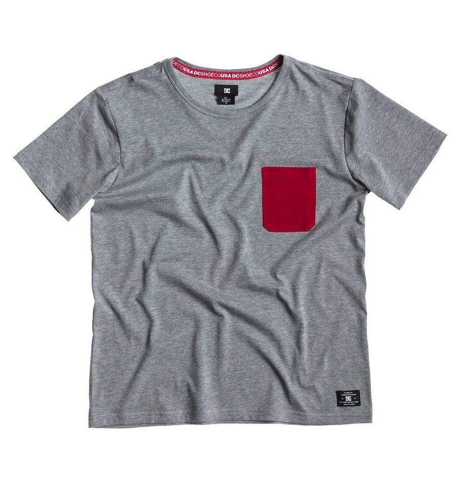 DC Shoes Top »Spart Crew Boy« in Heather grey