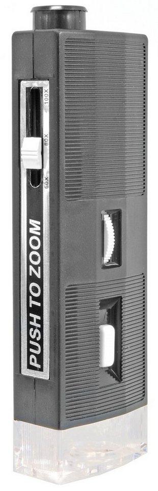 Bresser Mikroskop »BRESSER 60x-100x Hand Mikroskop«