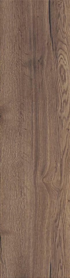Laminat »Variation«, eiche dunkel Nachbildung, Breite 328 mm in braun