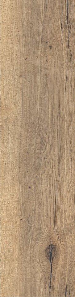 Laminat »Variation«, eiche natur Nachbildung, Breite 328 mm in braun