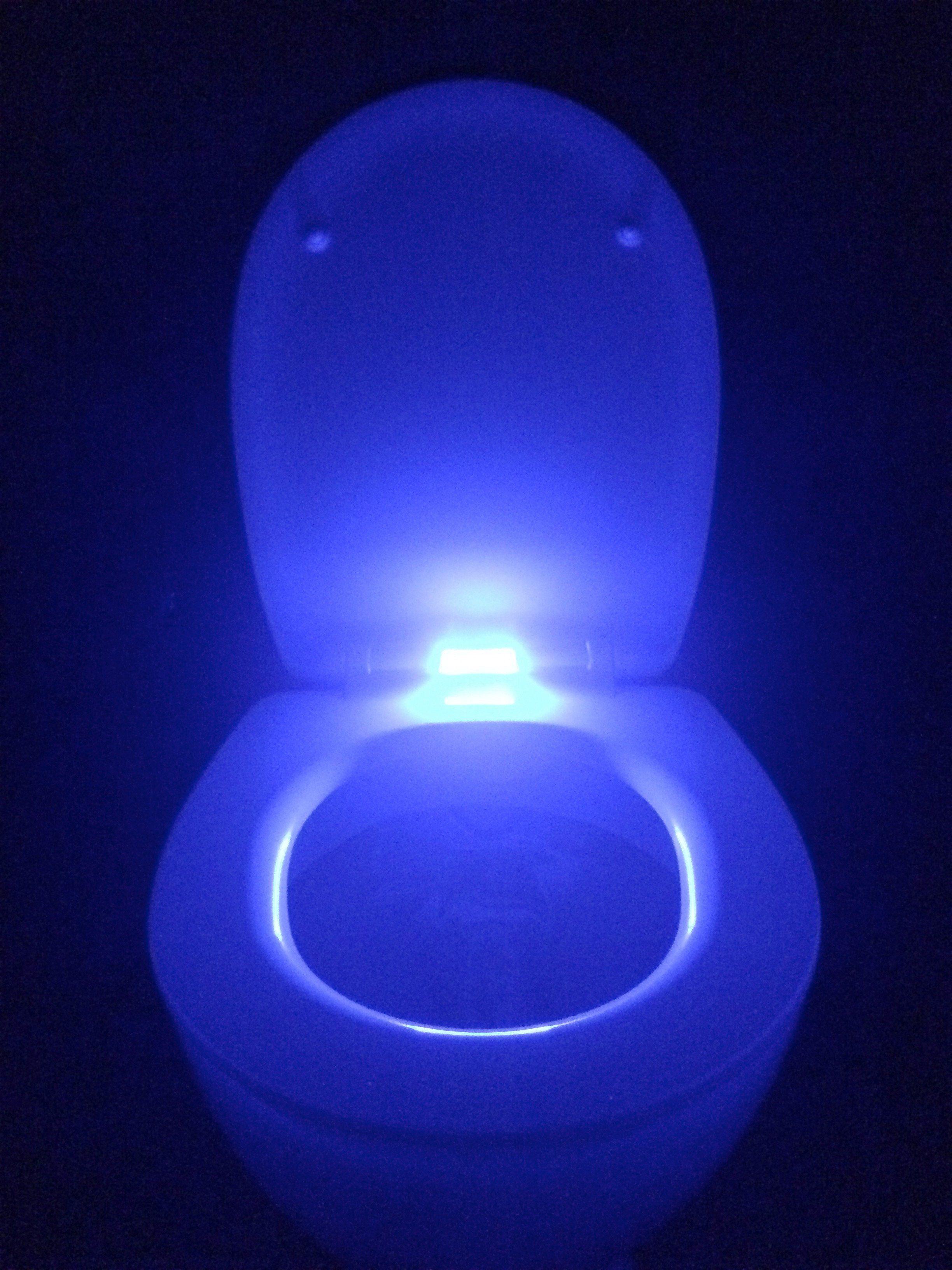 WC-Sitz »LED«, Mit Absenkautomatik