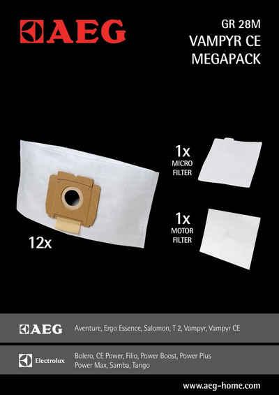 AEG Staubsaugerbeutel CE PW24TRE, passend für AEG, PROGRESS, PRIVILEG, Gr28 M für Vampyr CE