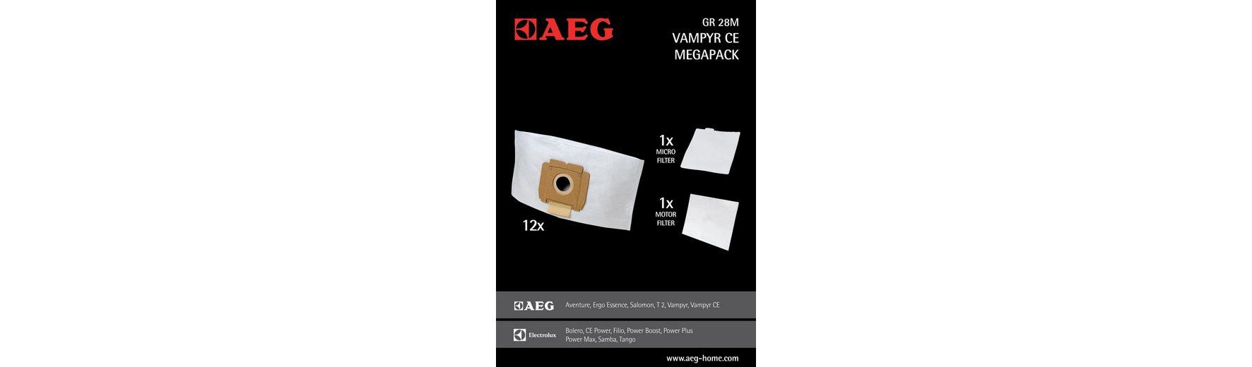 AEG Staubsaugerbeutel Gr28 M
