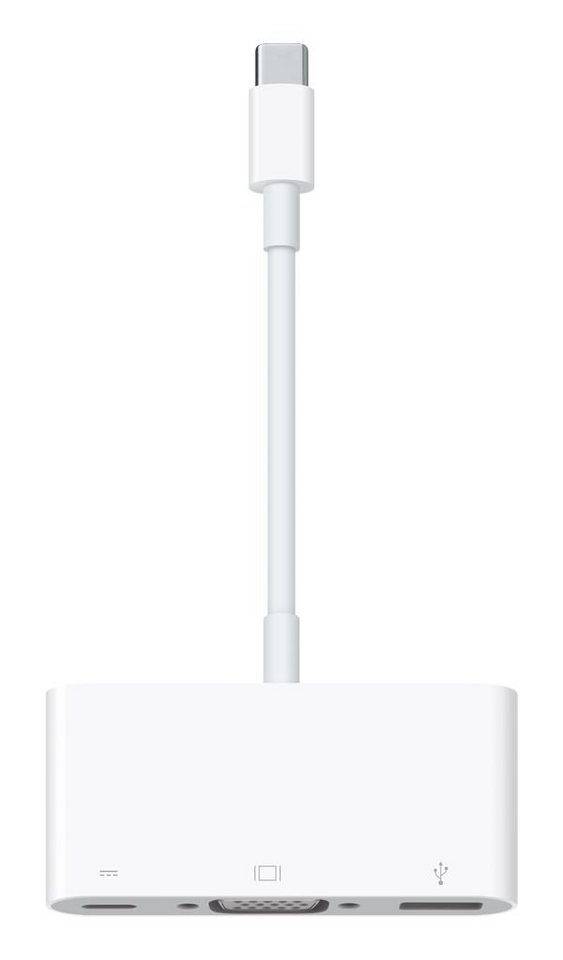 APPLE Adapter » USB-C VGA Multiport (MJ1L2ZM/A)« in weiß