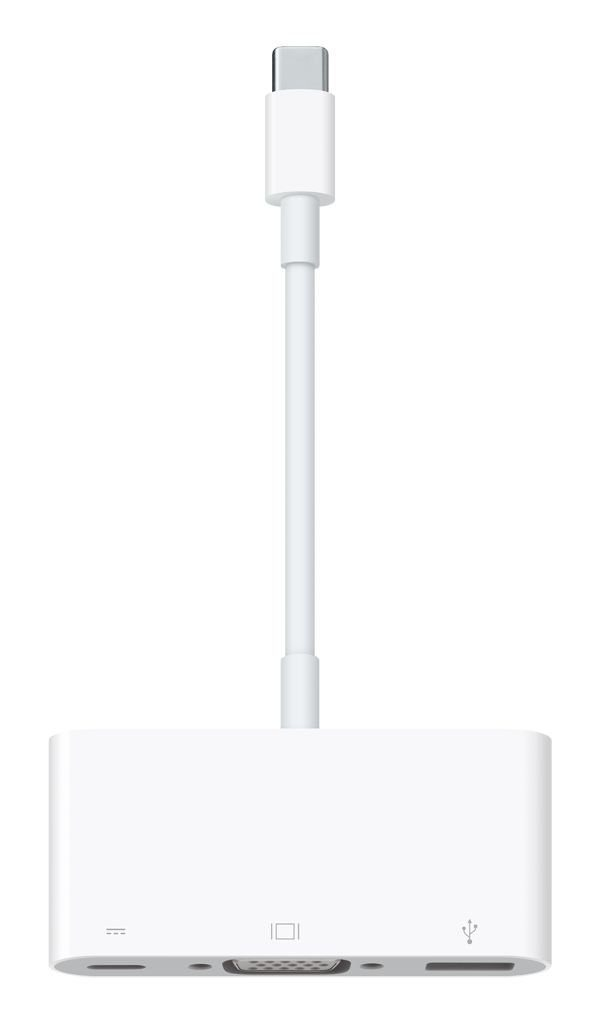 APPLE Adapter » USB-C VGA Multiport (MJ1L2ZM/A)«