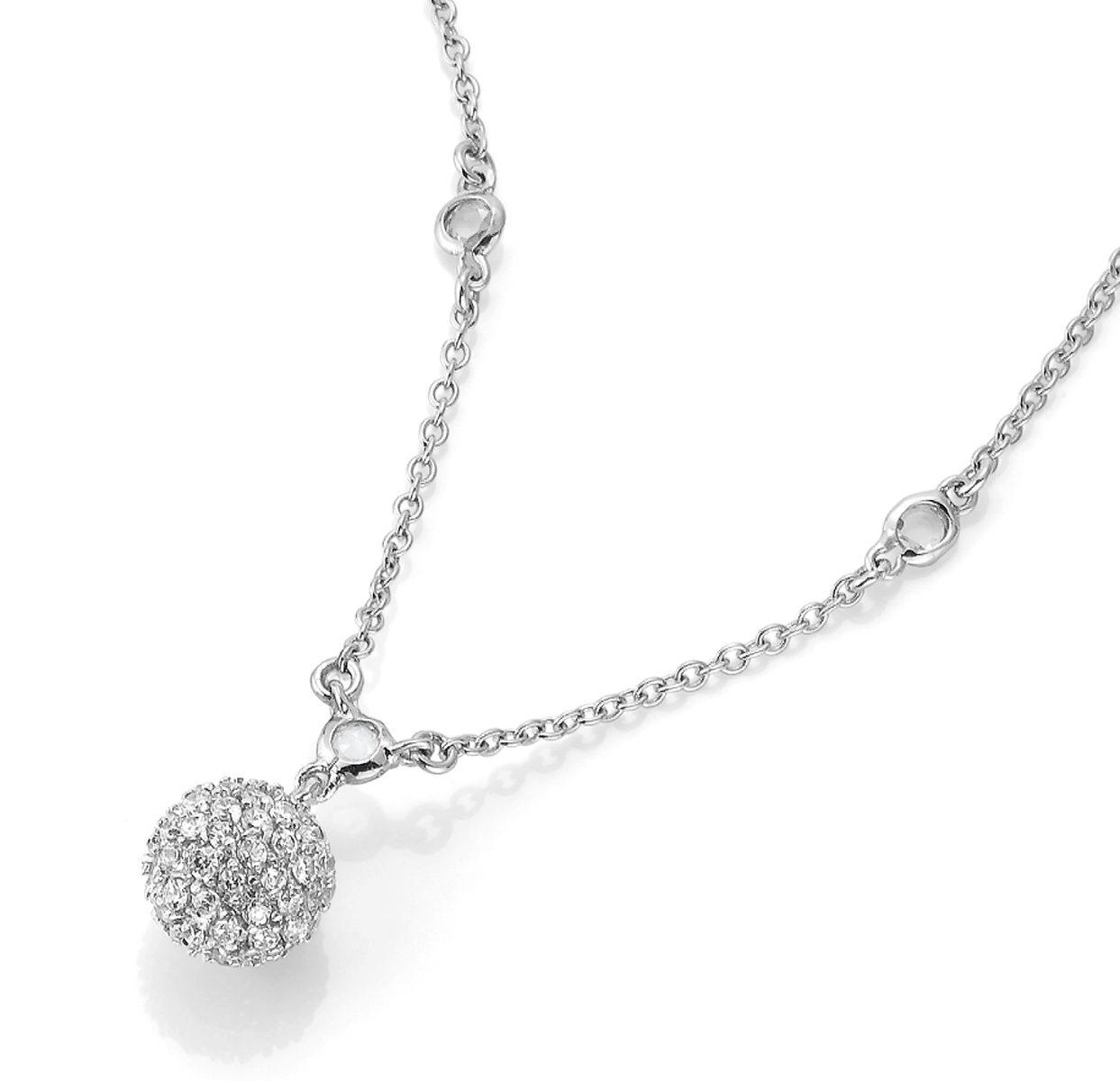 CELESTA Collier »925/- Sterling Silber Zirkonia«