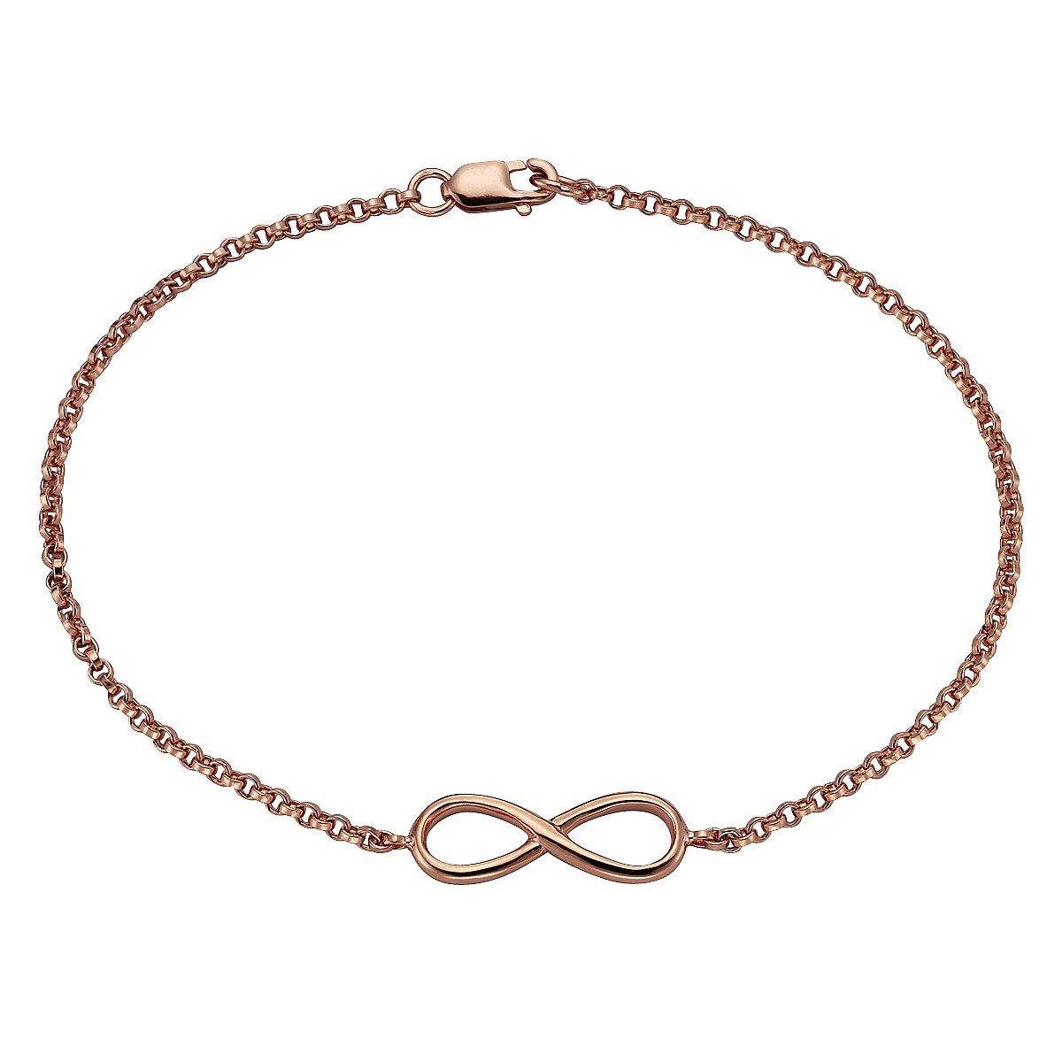 Zeeme Armband »925/- Sterling Silber Infinity«