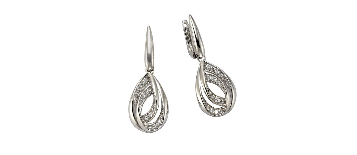 CELESTA Ohrhänger »925/- Sterling Silber«