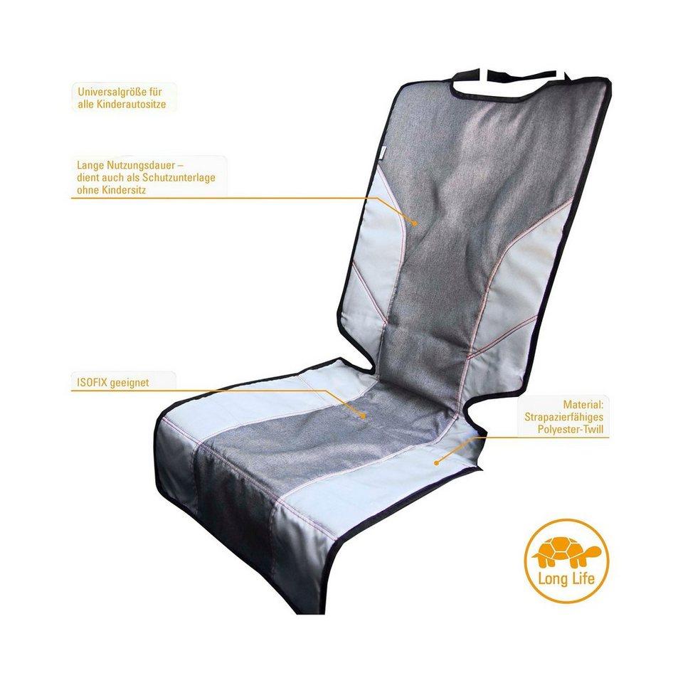 DIAGO Schutzunterlage Deluxe für Kindersitze in grau