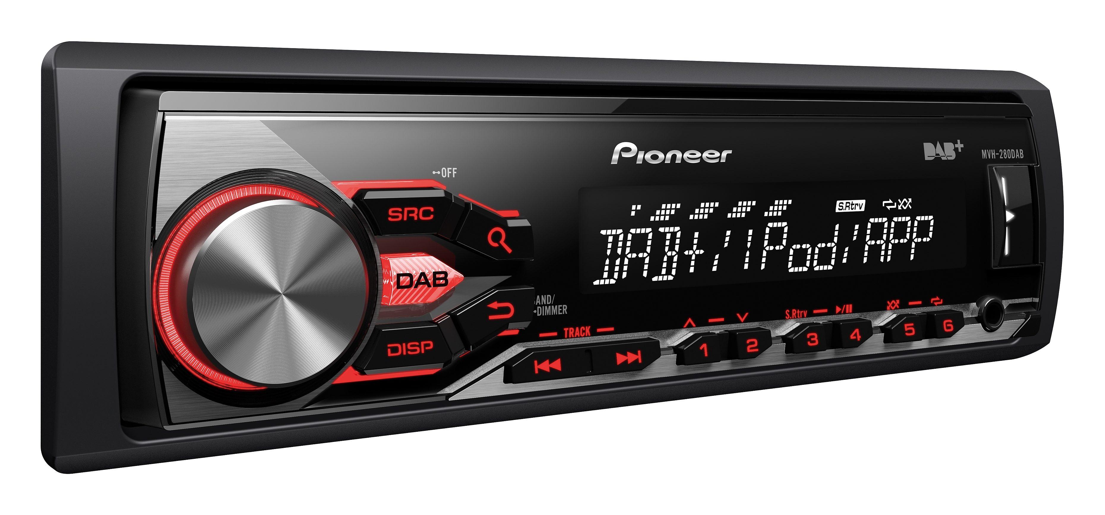 PIONEER 1-DIN Autoradio mit DAB+ »MVH-280DAB«