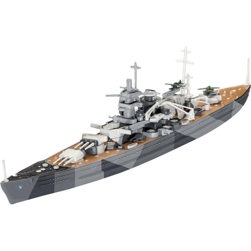 Revell Modellbausatz Battleship Scharnhorst im Maßstab 1:1200
