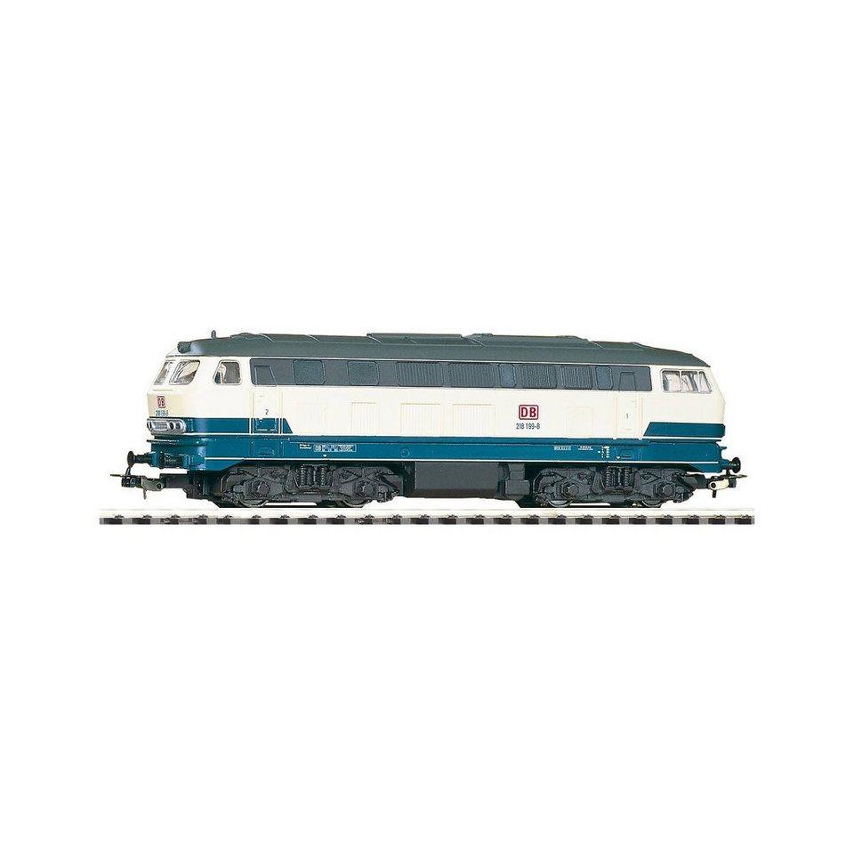 PIKO Spur H0 - Diesellok BR 218 beige/blau DB AG V