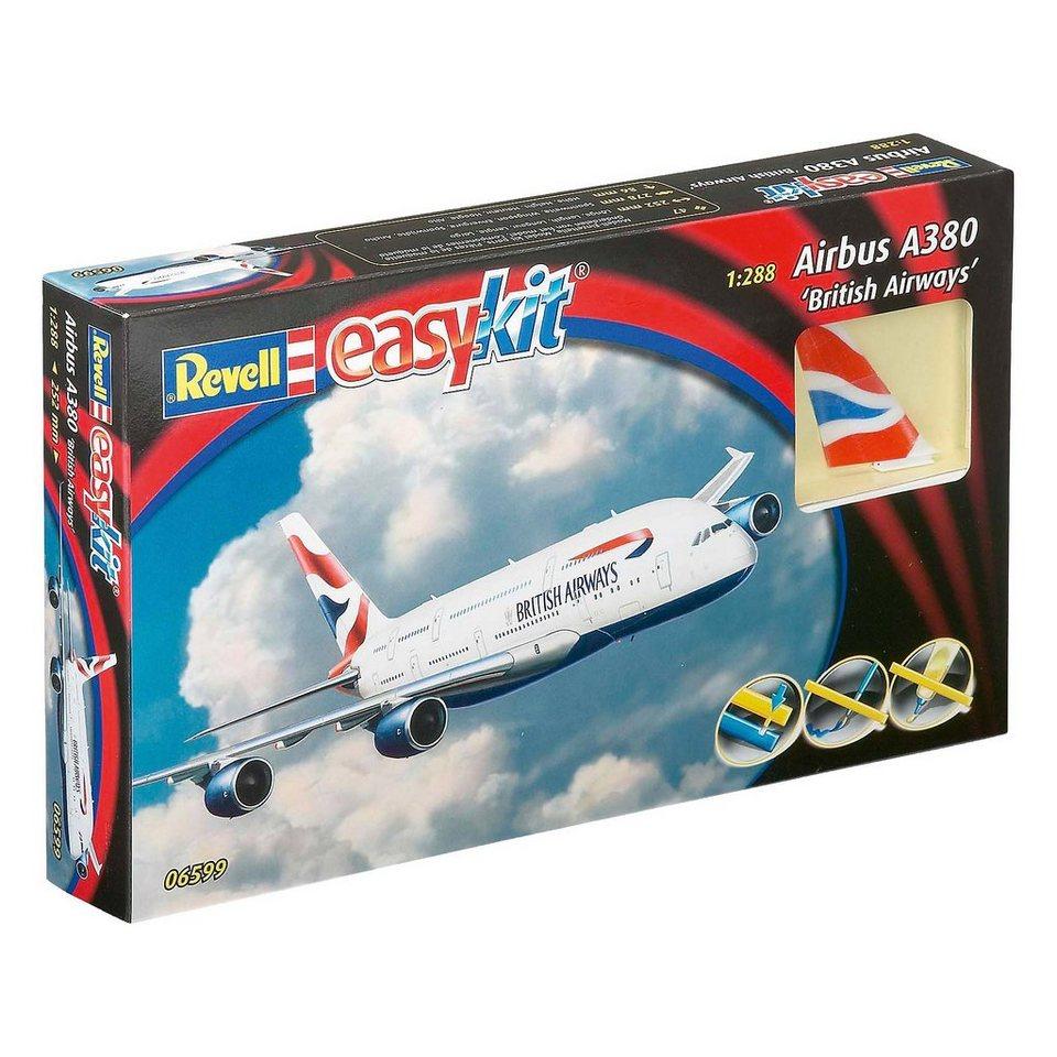 "Revell Modellbausatz ""easykit"" Airbus A380 British Airways"