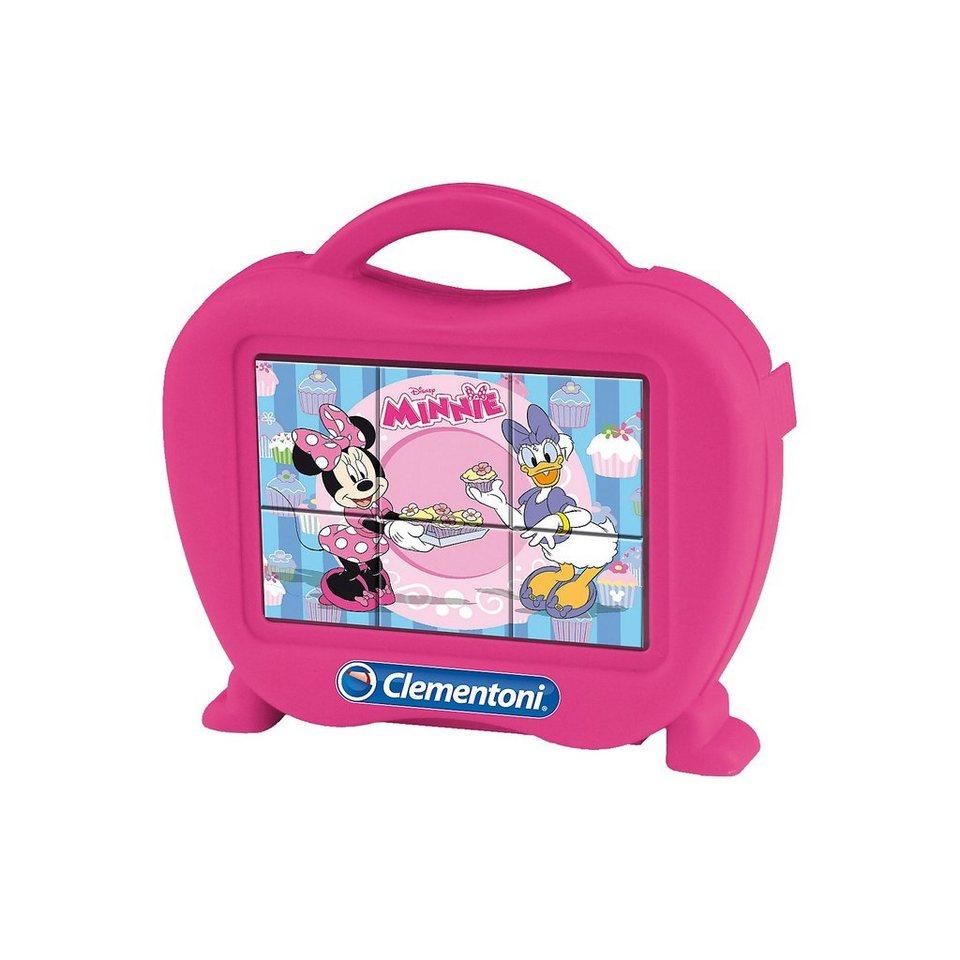 Clementoni Würfelpuzzle 6 Teile - Minnie Mouse