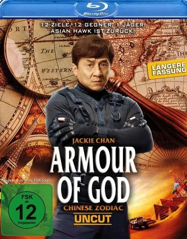 Blu-ray »Armour of God - Chinese Zodiac (Uncut)«