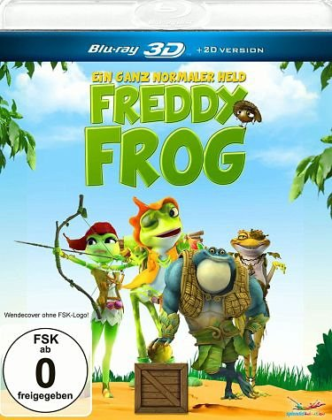 Blu-ray »Freddy Frog - Ein ganz normaler Held (Blu-ray 3D)«